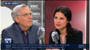 Bernard Pivot face à Apolline de Malherbe en direct