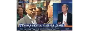 Sadiq Khan est élu nouveau maire de Londres (1/3)