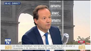 Jean-Marc Germain face à Apolline de Malherbe en direct