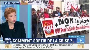 Laurence Parisot face à Jean-Claude Mailly: Comment sortir de la crise sociale ?