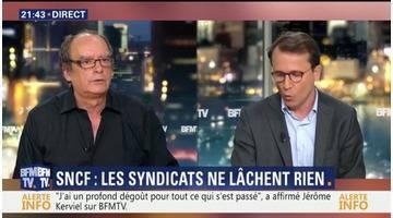 """SNCF: """"Pour Force Ouvrière, il faut que la réglementation du travail soit pour l'ensemble des cheminots"""", François Graza"""