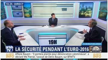 Philippe Goujon face à Jean-Louis Bruguière: La sécurité des fan-zones fait débat