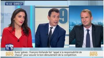 Anna Cabanaface à David Revault d'Allonnes: À la veille de l'ouverture de l'Euro 2016, l'exécutif se montre déterminé, mais est-il vraiment serein ?