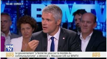 """Questions d'éco: """"Je suis contre un code du travail qui détruit l'emploi au lieu de le protéger"""", Laurent Wauquiez"""