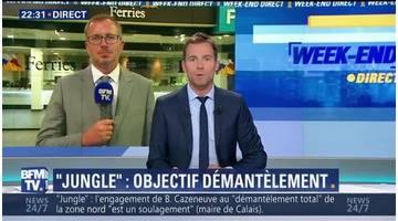 """""""Jungle"""" de Calais: Bernard Cazeneuve annonce un démantèlement en une étape (2/3)"""