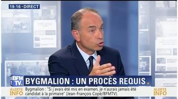 """Bygmalion: """"Si j'avais été mis en examen, je n'aurais jamais été candidat à la primaire"""", Jean-François Copé"""