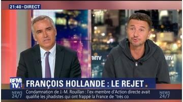 """Rejet de François Hollande pour 2017: """"S'il lui reste un gramme de bon sens et un soupçon de dignité, il ne se représente pas"""", Olivier Besancenot"""