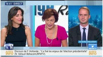 Anna Cabana face à David Revault d'Allonnes: Que retient-on du discours de François Hollande ?