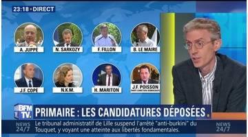 Primaire de la droite: la Haute Autorité a enregistré 11 candidatures (3/3)