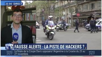 Fausse alerte attentat à Paris: les auteurs de l'appel irresponsable auraient agi pour le buzz