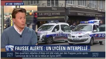 Fausse alerte terroriste: Un adolescent a été arrêté dans la Marne