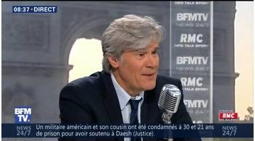 Stéphane Le Foll face à Jean-Jacques Bourdin en direct