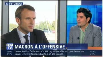 Présidentielle: Emmanuel Macron accélère sa marche (2/2)