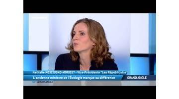 Nathalie Kosciusko-Morizet est l'invitée du 64' de TV5MONDE