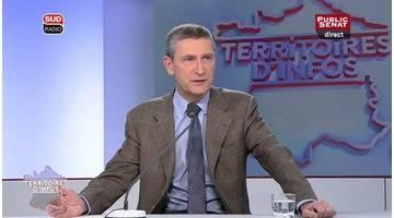 Invité : Frédéric Péchenard - Territoires d'infos (25/03/2016)