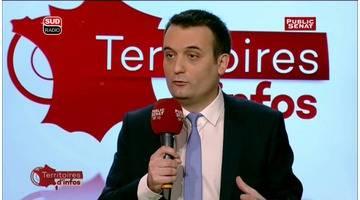 Invité : Florian Philippot - Territoires d'infos - Le best of (29/02/2016)