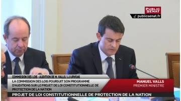 Audition de Manuel Valls et de Jean-Jacques Urvoas - Les matins du Sénat (08/03/2016)