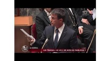 Sénat 360 : 49.3 / État d'urgence / Abolition de l'esclavage (10/05/2016)