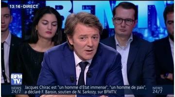 """""""Choisir d'être candidat à l'élection présidentielle est une décision très lourde"""", François Baroin"""