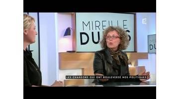 Mireille Dumas, politique et chanson - C à vous - 06/05/2016