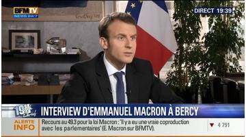 Emmanuel Macron face à Ruth Elkrief (2/2)