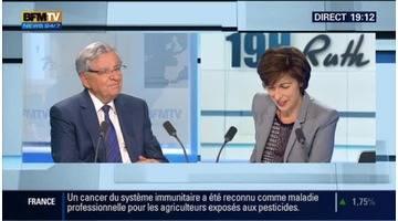 Jean-Pierre Chevènement face à Ruth Elkrief
