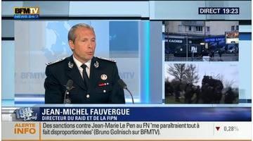 Jean-Michel Fauvergue face à Ruth Elkrief