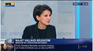 Najat Vallaud-Belkacem: L'invitée de Ruth Elkrief - 05/02