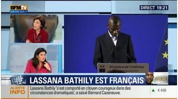"""Naturalisation de Lassana Bathily (4/5): """"Je suis très émue"""", Raquel Garrido - 20/01"""