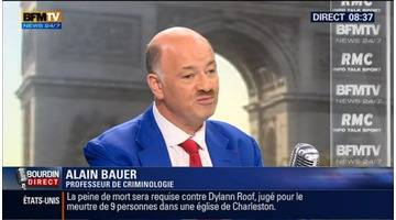 Alain Bauer face à Jean-Jacques Bourdin en direct
