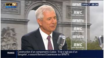 Claude Bartolone face à Jean-Jacques Bourdin en direct