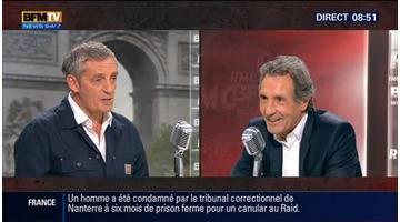 Philippe Saurel face à Jean-Jacques Bourdin en direct