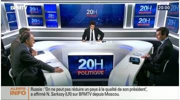 Nicolas Sarkozy plaide pour le dialogue avec la Russie