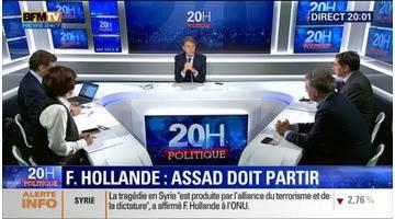 ONU: François Hollande réaffirme que la résolution du conflit syrien se fera sans Bachar al-Assad