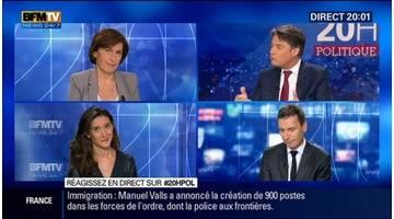 """Crise des migrants: La France """"n'hésitera pas"""" à rétablir temporairement des contrôles aux frontières, Manuel Valls"""