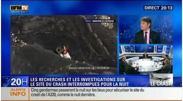 """Édition spéciale """"Crash de l'A320"""": Un fichier audio utilisable a été extrait de la première boite noire (19:57)"""