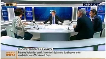 20H Politique: François Hollande inaugure la Fondation Louis Vuitton – 20/10