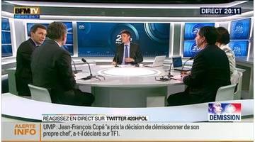 20H Politique: Affaire Bygmalion: Jean-François Copé a démissionné de la tête de l'UMP - 27/05