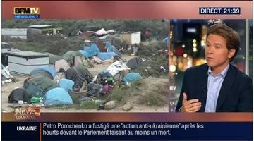 """Calais: """"Je ne m'oppose pas à la création d'un centre d'hébergement pour les migrants"""", Geoffroy Didier"""