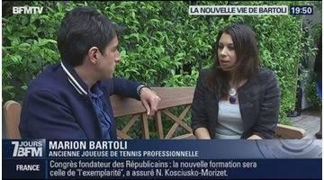 La nouvelle vie de Marion Bartoli