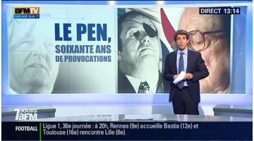 Jean-Marie Le Pen, soixante ans de provocations