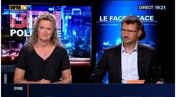 Michel Sapin face à Sophie Pedder et Christian Schubert dans BFM Politique