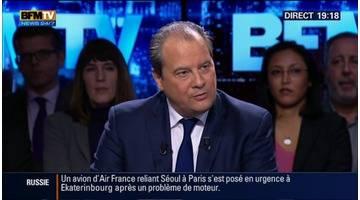 BFM Politique: L'interview de Jean-Christophe Cambadélis par Apolline de Malherbe (4/6) - 15/02