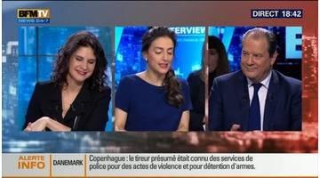 BFM Politique: L'interview de Jean-Christophe Cambadélis par Anna Cabana (3/6) - 15/02