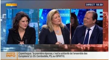 BFM Politique: L'interview BFM Business de Jean-Christophe Cambadélis par Hedwige Chevrillon (2/6) - 15/02