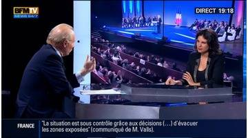 BFM Politique: L'interview de Brice Hortefeux par Apolline de Malherbe (4/6) - 30/11