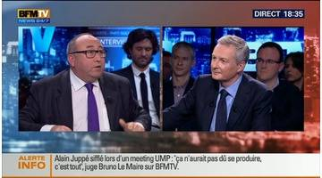 BFM Politique: L'interview BFM Business de Bruno Le Maire par Emmanuel Lechypre (2/6) - 23/11