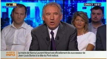 BFM Politique: L'interview de François Bayrou par Anna Cabana du Point - 22/06 3/6