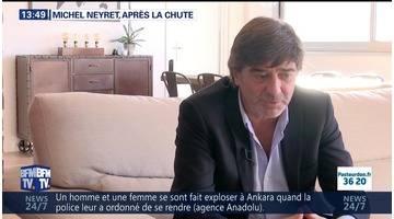Michel Neyret, après la chute