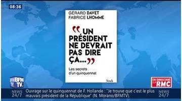 Gérard Davet et Fabrice Lhomme face à Jean-Jacques Bourdin en direct